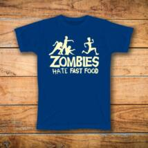 Zombies mintás póló