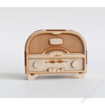 Nagy rádió alakú persely