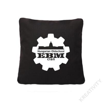 EBM Díszpárna fekete