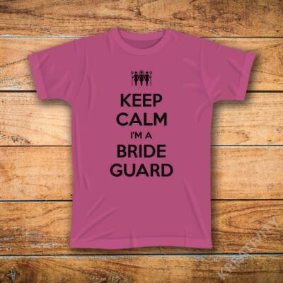 Bride Guard feliratos póló