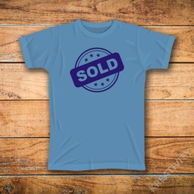 Sold feliratos póló