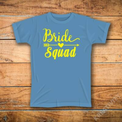 Bride squad feliratos póló