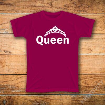 Queen mintás póló