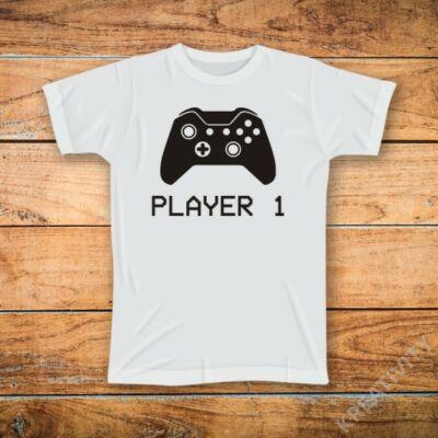 Player 2 mintás póló