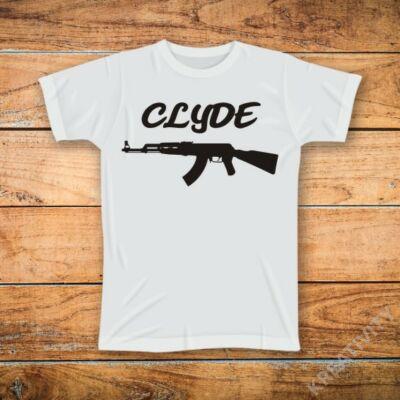 Clyde 2 mintás póló