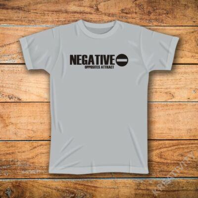 Negative mintás póló