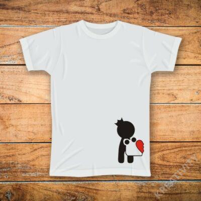 Puzzle fiú mintás póló