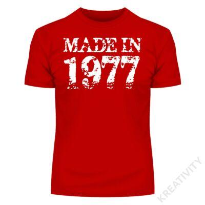 Made in 2 feliratos póló