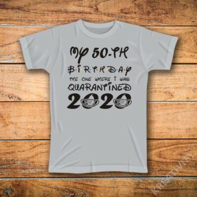 2020 feliratos póló