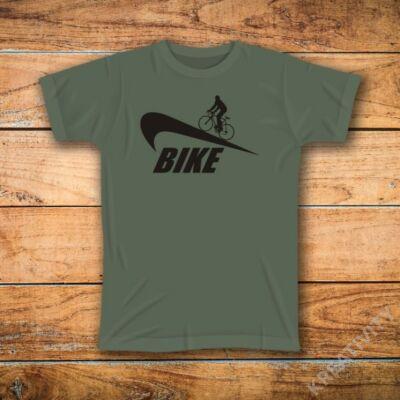 Bike mintás póló