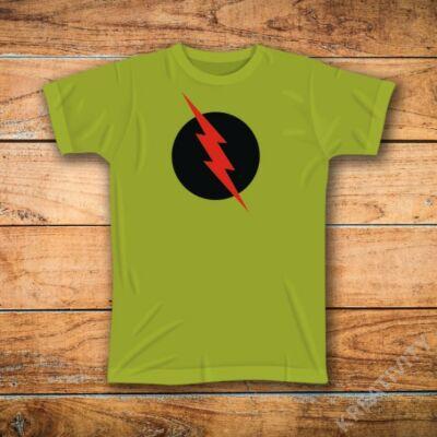 Flash feliratos póló