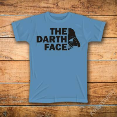 The darth face mintás póló