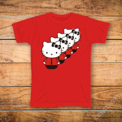 Kraftwerk Kitty feliratos póló