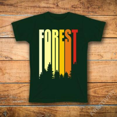Forest színes feliratos póló