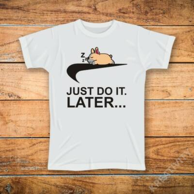 Jost do it later mintás póló