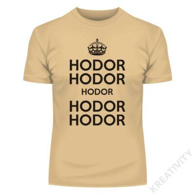 Hodor feliratos póló