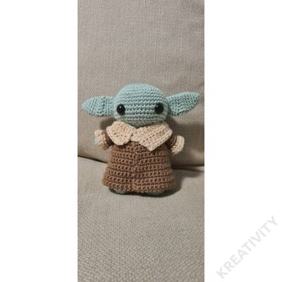 Baby Yoda kötött termék